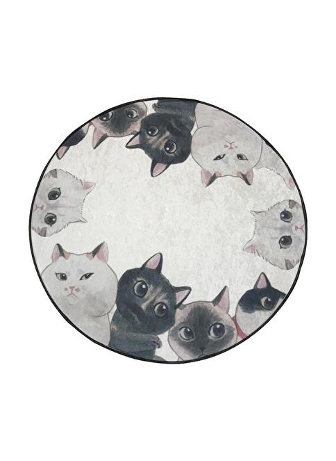 Chilai Home Angry Cats Paspas 100 Cm Siyah